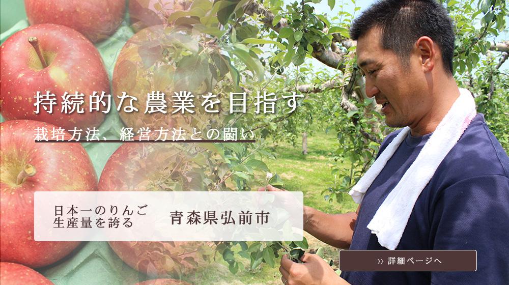 持続的な農業を目指す 栽培方法、経営方法との闘い